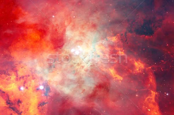Stockfoto: Nevelvlek · ruimte · communie · afbeelding · hemel