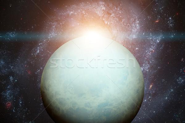 Solar System - Uranus. Elements of this image furnished by NASA. Stock photo © NASA_images
