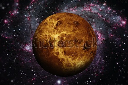 Solar System - Earth. Outer space on the background. Stock photo © NASA_images