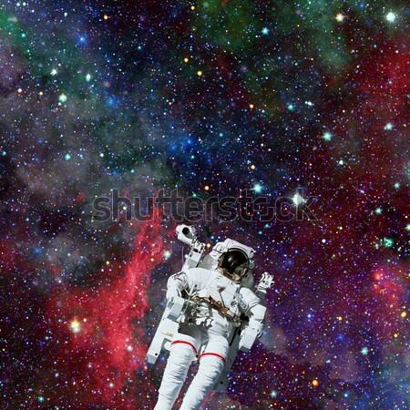 Astronaute espace nébuleuse étoiles image Photo stock © NASA_images