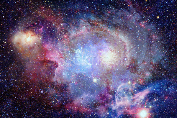 Stock photo: Nebula and stars in deep space. Elements of this image furnished by NASA