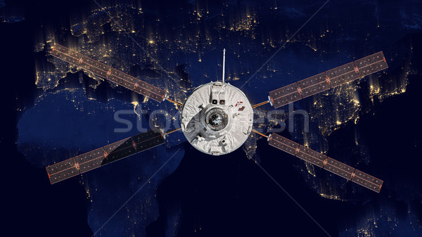 The European Space Agency's Automated Transfer Vehicle-4 into space. Stock photo © NASA_images