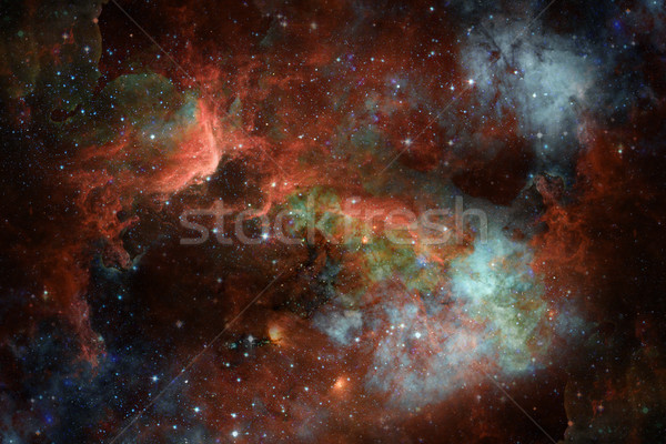 Starry deep outer space - nebula and galaxy Stock photo © NASA_images