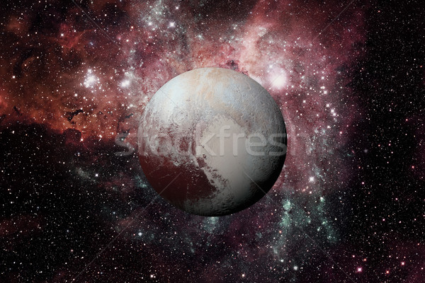 Pluto is a dwarf planet in the Kuiper belt. Stock photo © NASA_images