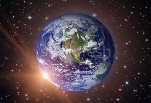 Naprendszer Föld Föld legnagyobb belső bolygók Stock fotó © NASA_images
