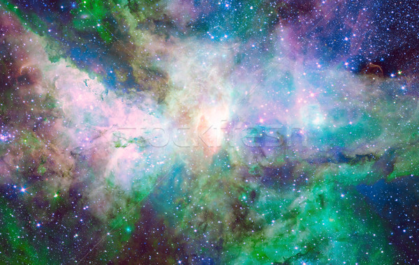 Nebula and stars in deep space. Stock photo © NASA_images
