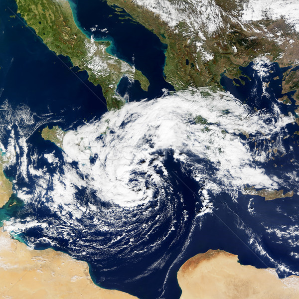 Cyclonic Storm in the Mediterranean Stock photo © NASA_images