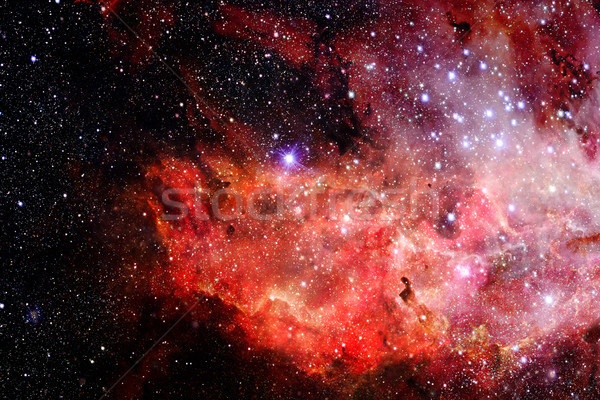 Abstract scientific background - galaxy and nebula in space. Stock photo © NASA_images