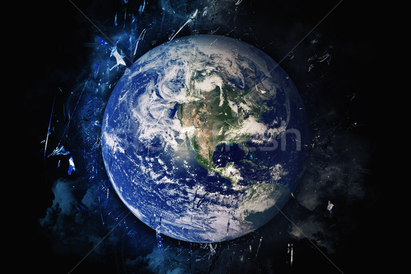 Planet Art - Earth. Elements of this image furnished by NASA Stock photo © NASA_images