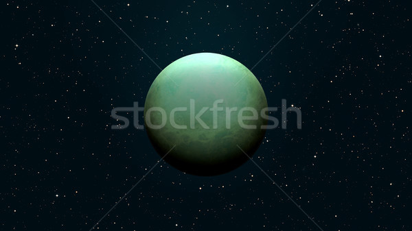 Planet Uranus. Elements of this image furnished by NASA. Stock photo © NASA_images