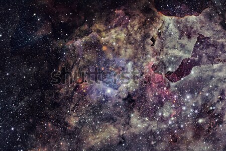 Stock photo: Pillars of Creation. Eagle Nebula in the constellation Serpens.
