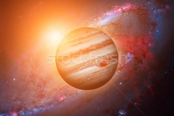 Bolygó csillagköd naprendszer nap legnagyobb óriás Stock fotó © NASA_images