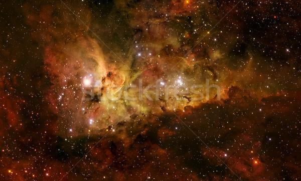 The Carina Nebula is a large bright nebula. Stock photo © NASA_images