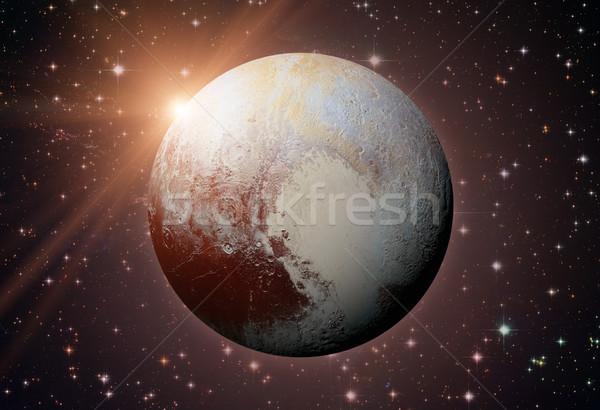 太陽系 冥王星 小さくする 惑星 ベルト リング ストックフォト © NASA_images
