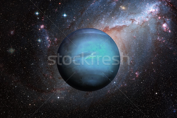 Planet Neptune. Outer space background. Stock photo © NASA_images