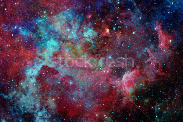 Nebula and stars in deep space. Elements of this image furnished by NASA Stock photo © NASA_images