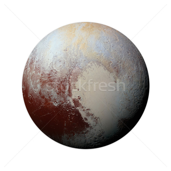 太陽系 冥王星 孤立した 惑星 白 要素 ストックフォト © NASA_images