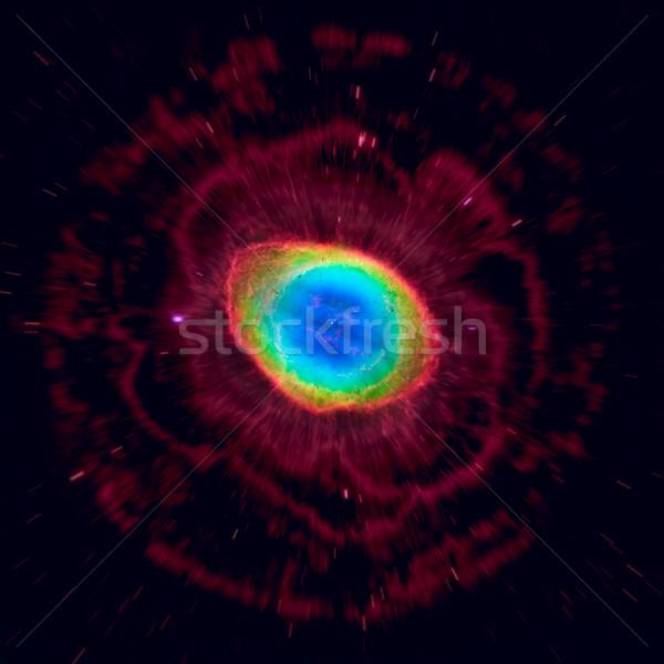 Anel nebulosa elementos imagem norte constelação Foto stock © NASA_images