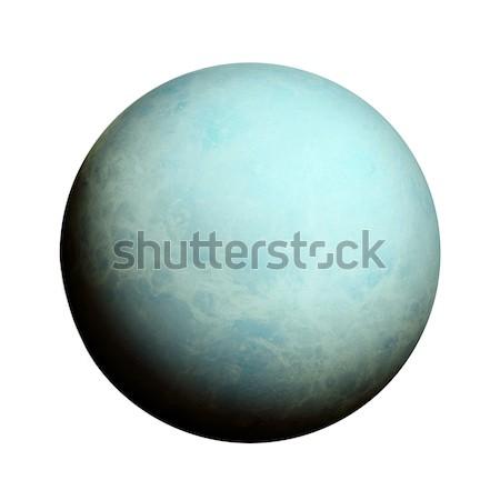 Güneş sistemi yalıtılmış gezegen beyaz elemanları görüntü Stok fotoğraf © NASA_images
