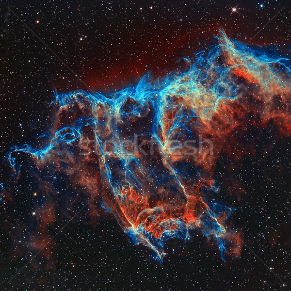 The Veil Nebula in the constellation Cygnus. Stock photo © NASA_images