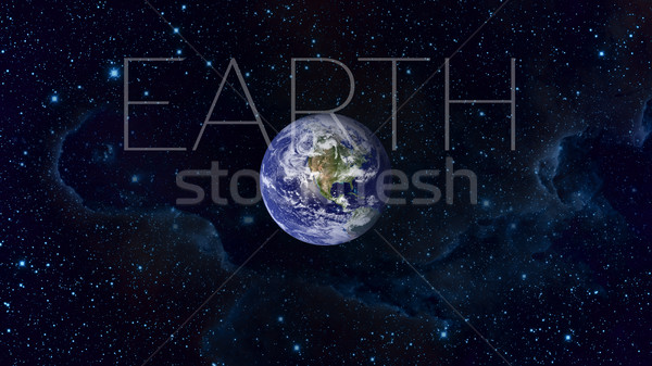 Planet Earth from space. Elements of this image furnished by NASA. Stock photo © NASA_images