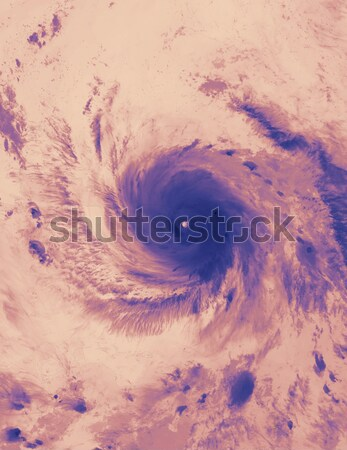 Tropical storm Maria. Thermal image. Elements of this image furnished by NASA Stock photo © NASA_images