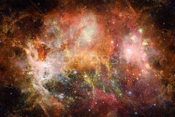 Stock photo: Universe filled with stars, nebula and galaxy.