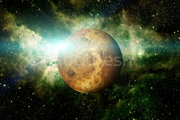 Stock photo: Planet Venus. Elements of this image furnished by NASA.