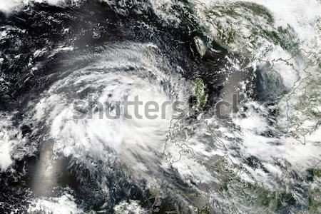 Tropical storm. Elements of this image are furnished by NASA Stock photo © NASA_images