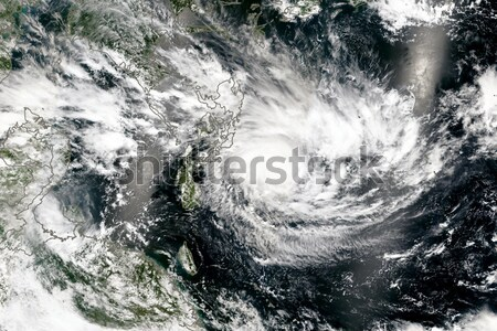 Hurricane viewed from space. Elements of this image are furnished by NASA. Stock photo © NASA_images