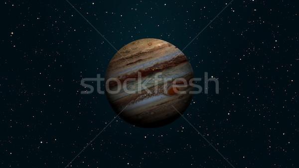 太陽系 惑星 太陽 巨人 質量 ストックフォト © NASA_images