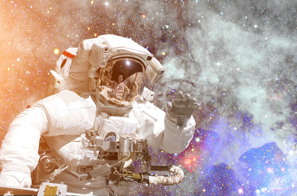 NASA space exploration astronaut. Elements of this image furnished by NASA. Stock photo © NASA_images