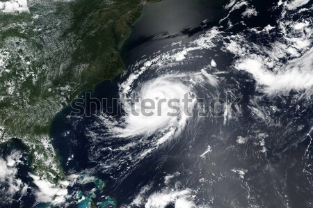 Hurricane Maria and Jose. Elements of this image furnished by NASA Stock photo © NASA_images