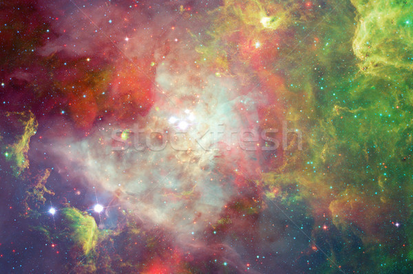 Nebulosa stelle spazio esterno elementi immagine cielo Foto d'archivio © NASA_images