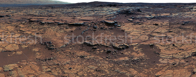 Panorama of Mars surface. Elements of this image furnished by NASA Stock photo © NASA_images