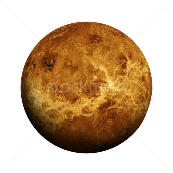 太陽系 孤立した 惑星 白 要素 画像 ストックフォト © NASA_images
