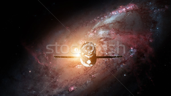 Spacecraft Progress orbiting the earth. Stock photo © NASA_images