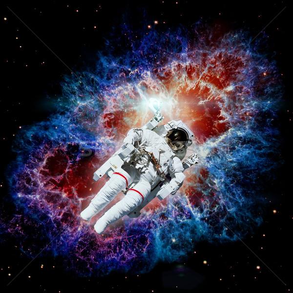 астронавт космическое пространство туманность Элементы изображение солнце Сток-фото © NASA_images