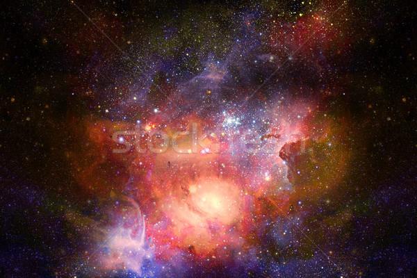 Kép csillagköd mély űr elemek absztrakt Stock fotó © NASA_images