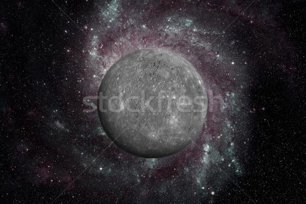 Planeta espacio exterior sistema solar sol ocho planetas Foto stock © NASA_images