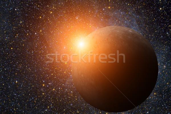 Sistema solar planeta sol oito planetas terra Foto stock © NASA_images