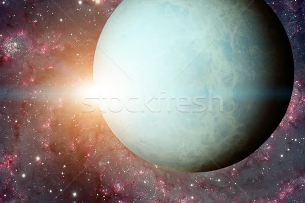Сток-фото: Солнечная · система · Элементы · изображение · планеты · солнце · гигант