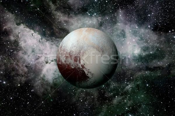 Solar System - planet Pluto. Stock photo © NASA_images