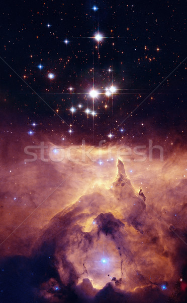 NGC 6357 is a diffuse nebula in the constellation Scorpius. Stock photo © NASA_images