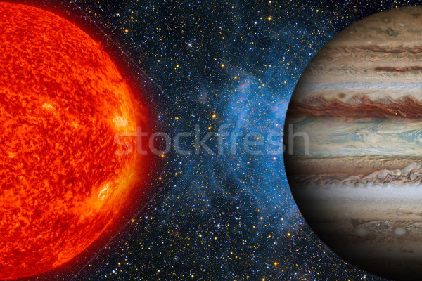 Solar System - Jupiter. It is the largest planet in the Solar System. Stock photo © NASA_images