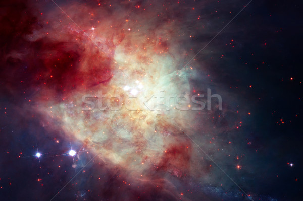 Galaxy in universe. Elements of this Image Furnished by NASA Stock photo © NASA_images