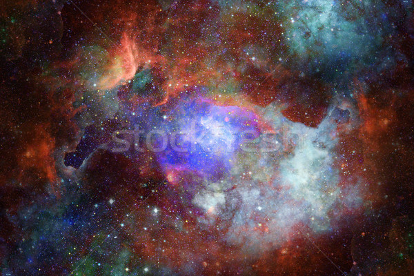 Universo estrellas nebulosa galaxia profundo Foto stock © NASA_images