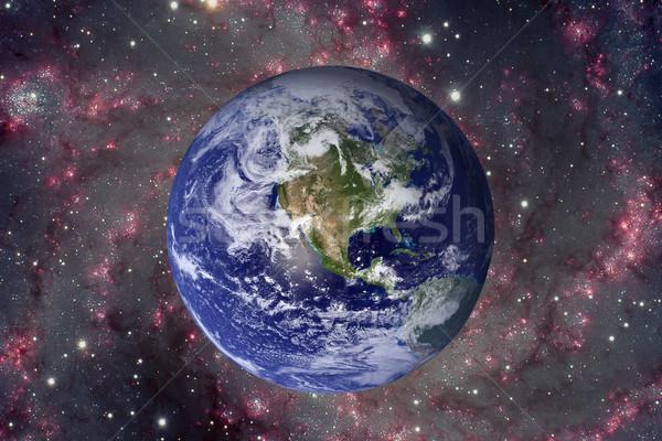 Sistema solar planeta terra elementos imagem terra Foto stock © NASA_images