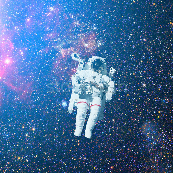 宇宙飛行士 宇宙 星雲 要素 画像 太陽 ストックフォト © NASA_images