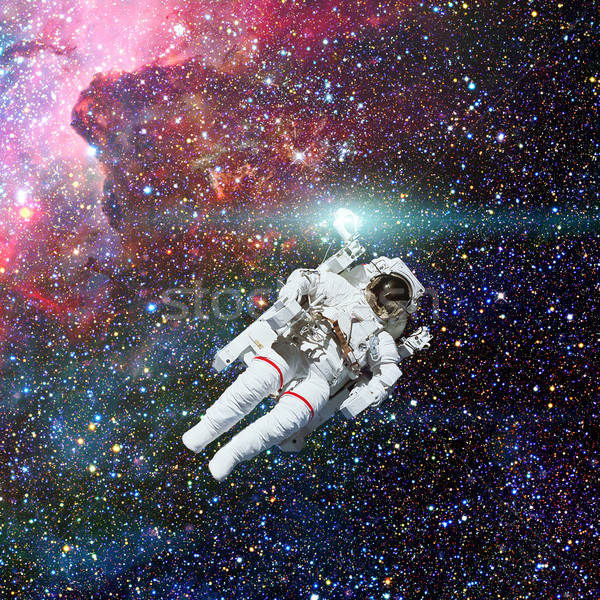 Astronauta espacio exterior nebulosa elementos imagen sol Foto stock © NASA_images
